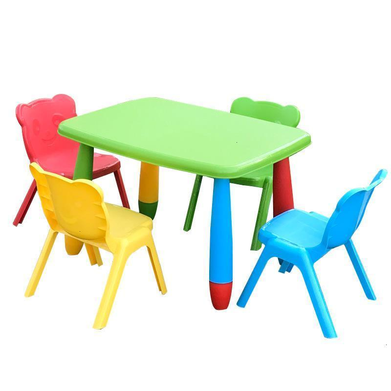 Per Bambini De Estudio Children Mesa Y Silla Infantil Chair And Desk Kindergarten Study For Kinder Bureau Enfant Kids Table|  - title=