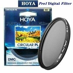 HOYA PRO1 цифровой CPL 62 мм круговой поляризационный фильтр Pro 1 DMC CIR-PL Multicoat для Canon Sony Камера Защита объектива
