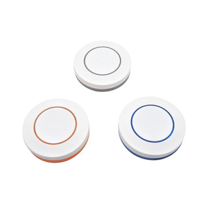 Image 2 - 433Mhz Wireless Remote Control KTNNKG 1 Button Round Remote Control Switch Feel Free To Paste EV1527 Chip Learning Type
