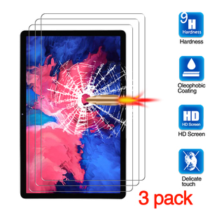 Para lenovo tab p11 protetor de tela, tablet película protetora anti-risco vidro temperado para lenovo tab p11 TB-J606F (11
