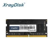 XrayDisk memoria Ram DDR4 8GB 4GB 16GB 2400mhz  2666mhz sodimm notebook high performance laptop memory tigo brand laptop memoria ram ddr3 4gb sodimm memory for notebook 1 35v low power 1600mhz 1333mhz