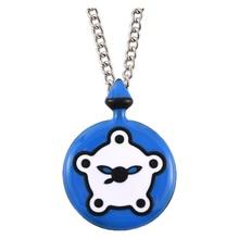 Harong Miracle Ladybug Necklace Pocket Trendy Jewelry Necklace Cute Miracle Rabbit Bunny Kwami Pendant Anime Cat Nior Kid Gift
