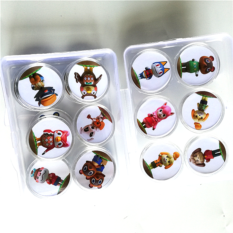 Fast Shipping 16Pcs/lot <font><b>Animal</b></font> <font><b>Crossing</b></font> Of <font><b>amiibo</b></font> Festival Collection NFC <font><b>Card</b></font> Coin Game Tag image