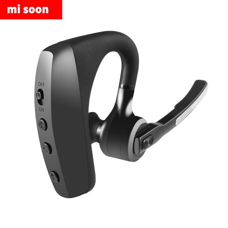 K10c Business Bluetooth Headset Csr Chip Hanging Ear Wireless Business Sports Bluetooth Headset Bluetooth Earphones Headphones Aliexpress