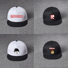 Roblox hat game around the net cap cap black powder baseball cap hat male and female students sun hat baseball hat 2018 roblox figure toys 7cm pvc roblox men game figurine roblox game boys characters toys for children gift