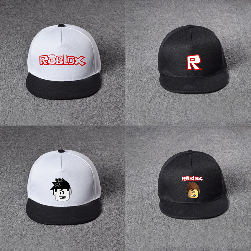 Roblox hat game around the net   cap     cap   black powder   baseball     cap   hat male and female students sun hat   baseball   hat