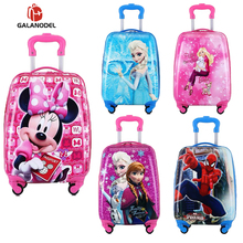 kids Travel suitcase Trolley Suitcase children travel luggage on wheel trolley luggage carry-ons hardside bag for kid gift