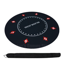 Texas Holdem Xi Bố Trí 120Cm Cao Su Bàn Vải Bàn Thảm Board Game Vải Cách Xếp Hình