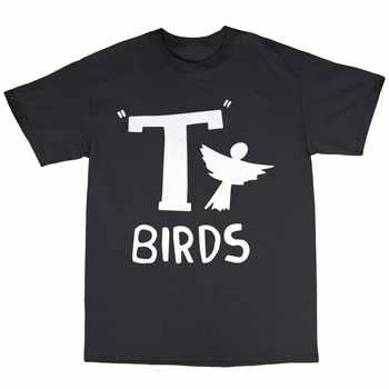 T-Birds T-Shirt 100% Cotton Grease Danny Zucco John Travolta Olivia Newton Funny Tee T-SHIRT New2017 More Size and Colors-A784 image