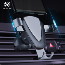 Gravity Car Phone Holder Air Vent Mount Universal Mobile Sma