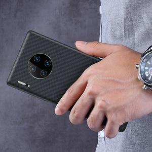 Image 2 - Obudowa z włókna węglowego TRENDEX do Huawei Mate 30 20 P30 Pro 100% prawdziwa oryginalna obudowa z włókna węglowego, odporna na wstrząsy, wyjątkowo cienki futerał