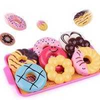 Niños niños pequeños plástico caja registradora juguete simulación Donut tienda Modelo Educación Temprana regalo 2