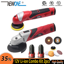 Polisher Angle-Grinder-Combo-Kit Power-Tool Cordless Newone 12v Grinding-Cutting Electric