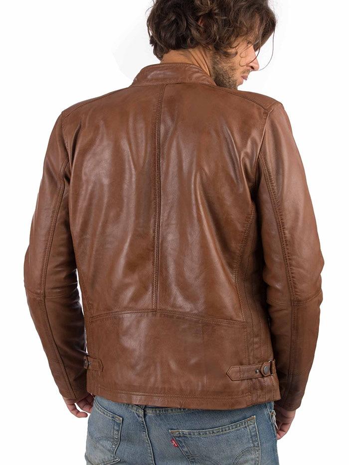 H442072e660ad4a0fb1f415afee4e52341 VAINAS European Brand Mens Genuine Leather jacket for men Winter Real sheep leather jacket Motorcycle jackets Biker jackets Alfa