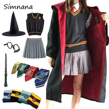 Kids Adults Potter Cosplay Costume Hermione Granger Outfits