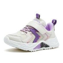 Criança sapatos menina chunky tênis criança sapatos designer crianças sapatos para a menina dos desenhos animados tênis 7-12y 12 + y