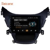 Seicane Android 8.1 9 Inch GPS Navi Bluetooth For 2011 2012 2013 Hyundai Elantra Car Radio With 1080P DVR Steering Wheel Control