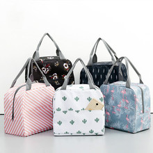 19 Models Functional Thermal Bag Lunch Box Portable Insulated Canvas Lunch Bag Thermal Food Picnic Lunch Bag Packing cubes lady все цены