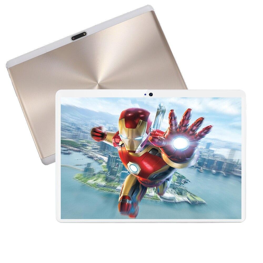 10 дюймов Автомобильный мультимедийный плеер планшет MT8752 6 ГБ 128 1280*800 ips 2.5D WI-FI gps ОС Android 9,0 Google market планшетный ПК с сенсорным экраном игровая