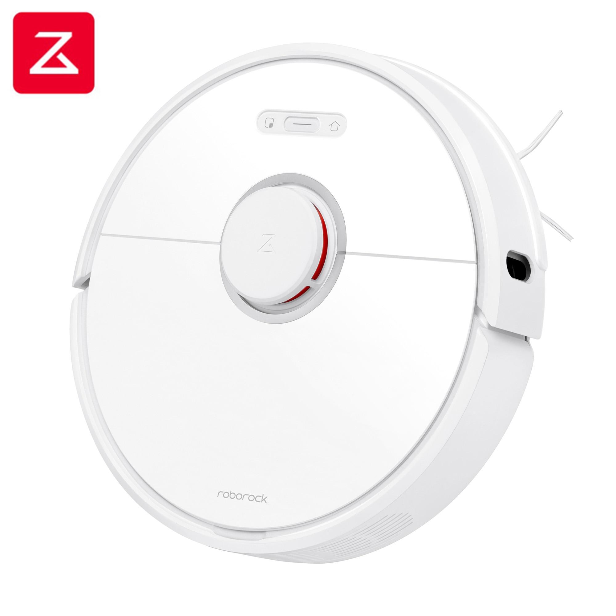 Roborock s6 branco robô aspirador de pó para casa automático varrendo poeira esterilizar inteligente planejado lavar esfregar vs roborock s50 s55