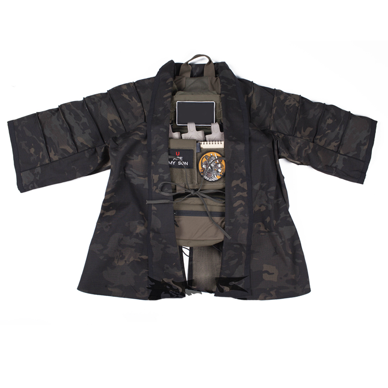 2019 New MCBK Tactical Cape Multicam Black Coverall