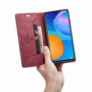 Image 5 - Cho Funda Huawei P Thông Minh 2021 Ốp Lưng Flip Wallet Từ Dành Cho Huawei Psmart 2021 Ốp Lưng Sang Trọng Mờ Da PU ốp Điện Thoại