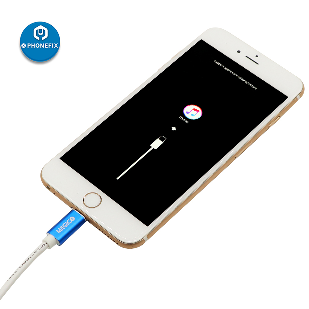 PHONEFIX Magico Restore Easy Cable For IPhone IPad Automatically Flashing Restoring Cable Online Check Serial Number