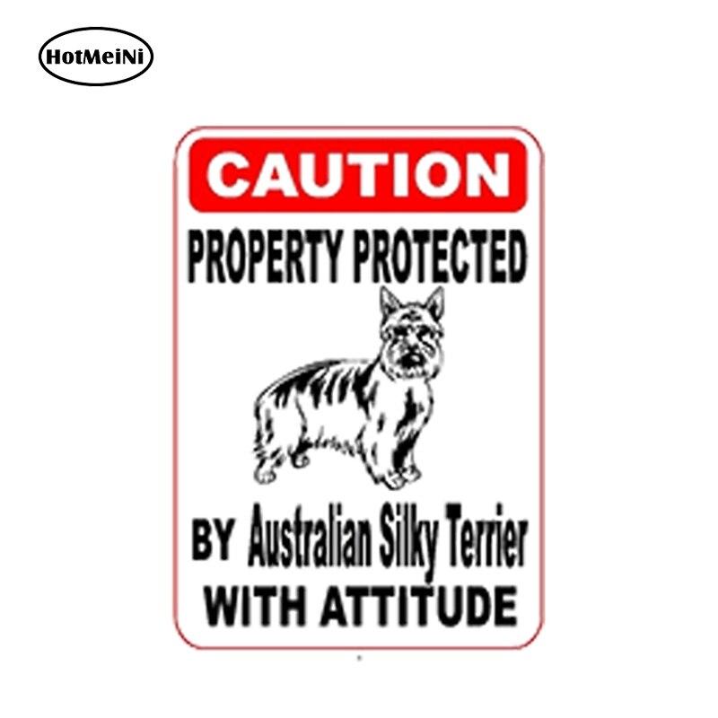 Australian Silky Terrier Decal