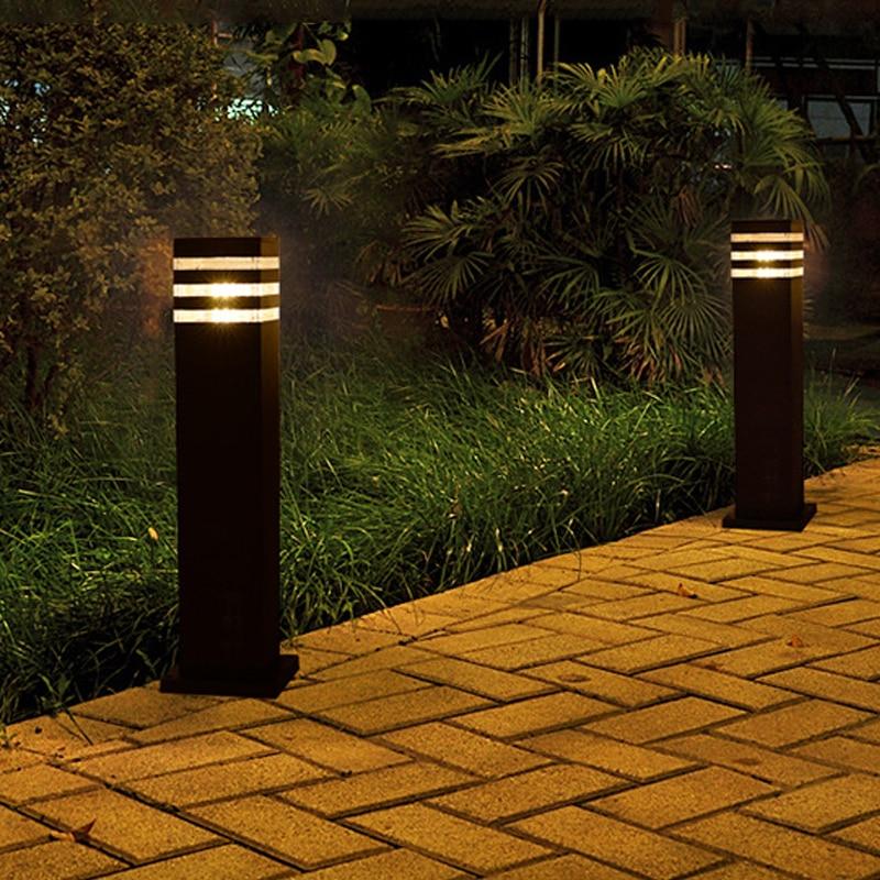 10W Outdoor LED Lawn Light Waterproof Aluminum Lawn Lamp Landscape Community Garden Courtyard Villa Grassland Road Lights