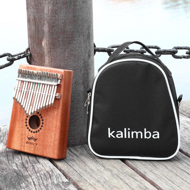 17/15/10 Key Universal Kalimba Box Storage Shoulder Portable Oxford Cloth Kalimba Bag Thumb Piano Kalimba Mbira Case