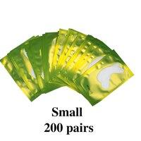 200 pairs Green