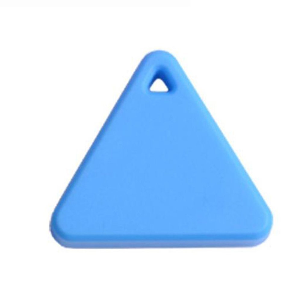 Triangle Shape Pet Tracker Wireless Smart Key Finder Anti Lost Reminder Alarm Locator Tag Key Finder GPS Locator Device