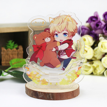 Love And Producer Stand Plate Anime Game Lian Yu Zhi Zuo Ren Mr Love Queen's Choice Li Ze Yan Stand Holder Model Cardboard maureen ryan producer to producer