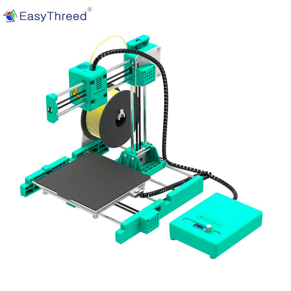 Easythreed X4 mini WiFi встроенный объем 150 мм x 150 мм x 150 мм с hotbed smal eductaion начального уровня потребительский персональный 3d принтер