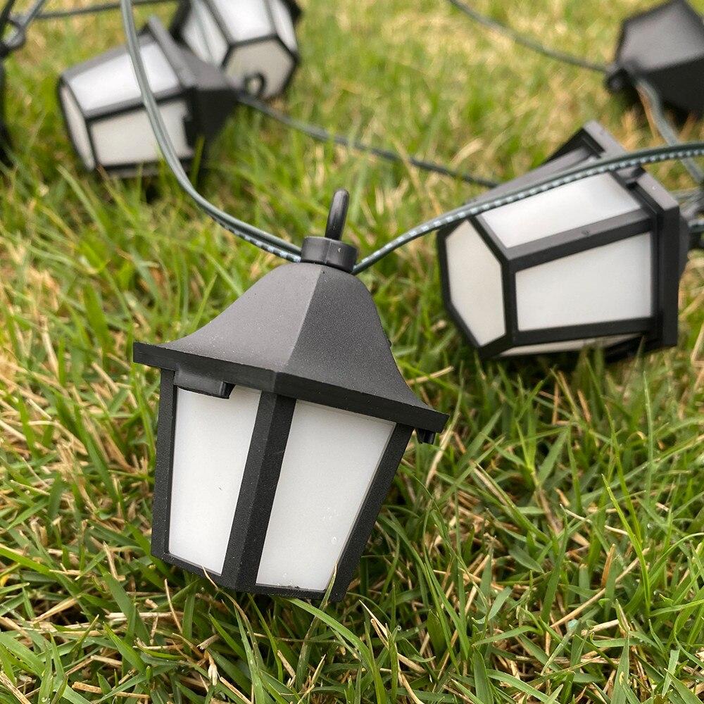 luzes solares led retro palacio lanterna jardim 04