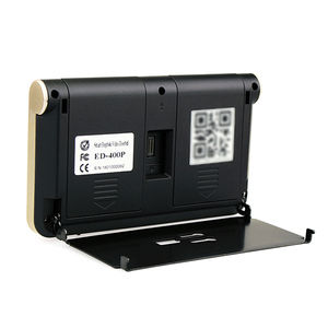 Image 3 - 4.3 אינץ עינית אלחוטית אבטחת פעמון 720P וידאו חזותי אינטרקום לילה ראיית Pir חכם Wifi פעמון