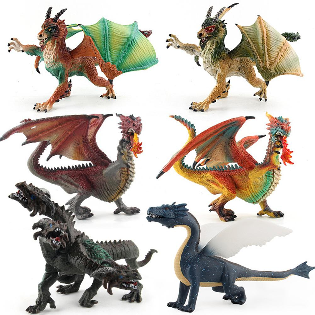 Realistic Flying Mutant Dragons Toy Model High Simulation Plastic Dinosaur Action Figure Toys For Kids Children Gift Collection