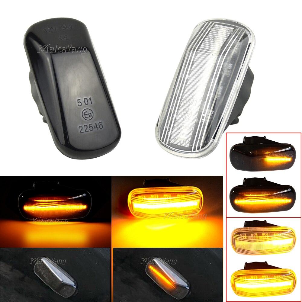 Repetidor lámpara para Honda Accord ciudad Odyssey S2000 llevó señal indicador lateral luz para Acura RSX NSX NA1 NA2