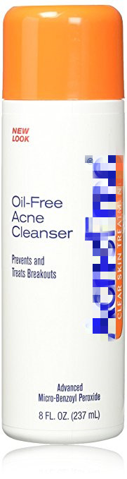 oil free acne cleanser 2.5% 237ml - 1