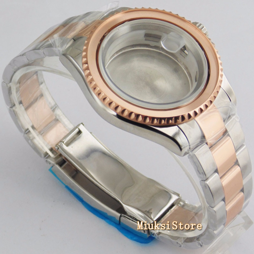 sólido pulseira de aço inoxidável ajuste eta