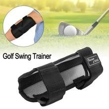 Portable Nylon Black Golf Training Supplies Outdoor Correcti