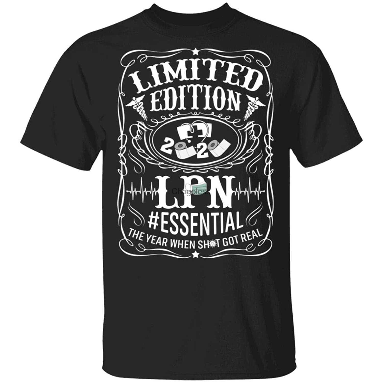 Ограниченная серия, футболка LPN Essential 2020, забавная Лицензированная Практичная рубашка для кормления