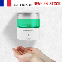 600ml Wall Mount Automatic IR Sensor Soap Dispenser Touch free Battery Powered Kitchen Soap Lotion Pump for Kitchen Bathroom