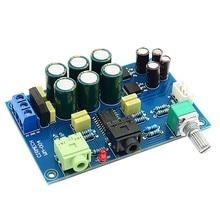 TPA6120 усилитель плата HIFI Enthusiast наушники доска усилитель «сделай сам» комплект аксессуары с короткого замыкания/Защита от перегрева+ 0
