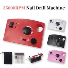 Polishing-Equipment Nail-Drill-Machine Mill-Cutter-Sets 35000RPM