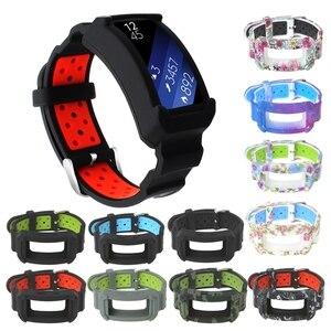 Image 2 - חדש סיליקון שעון להקת עבור ציוד Fit2 פרו כושר שעון יד להקות רצועת עבור Samsung Gear Fit 2 SM R360 צמיד