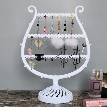 Estante de almacenamiento de joyas, organizador de joyas, Arete, collar, pulsera, árbol