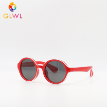 GLWL Children Sunglasses Boys Girls Baby Polarized Glasses Children's Mirror New design 2019 Silicon