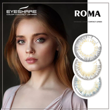 Colored-Contact-Lenses Cosmetic EYES Eye-Color Eyeshare-2pcs/pair Eye-Makeup for Hybr