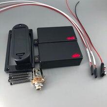 Активный гитарный звукосниматель для быстрого подключения проводов 9В батареи